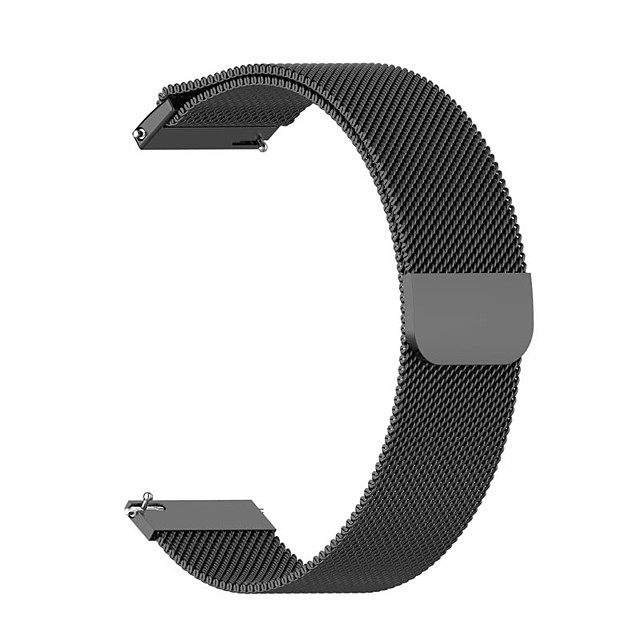 Watch Band for Gear S3 Classic / Samsung Galaxy Watch 46mm Amazfit / Samsung Galaxy / Huawei Milanese Loop Stainless Steel Wrist Strap