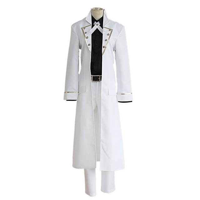 Inspired by K Yashiro Isana Anime Cosplay Costumes Japanese Cosplay Suits Coat Shirt Pants For Men's Women's / Belt / Tie