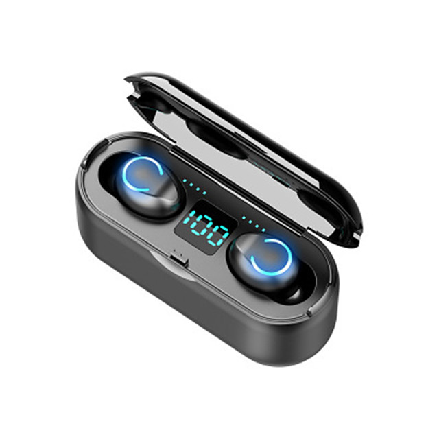 Wireless Bluetooth 5.1 Headphones, A13 TWS Bluetooth Earbuds , 3-Screen Digital Display Led Display Automatic Pairing Wireless Earphone with Charging Box