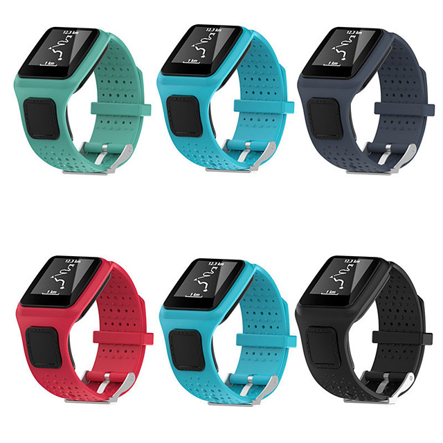 Watch Band for TomTom Multi-Sport GPS+HRM TomTom Sport Band TPE Wrist Strap