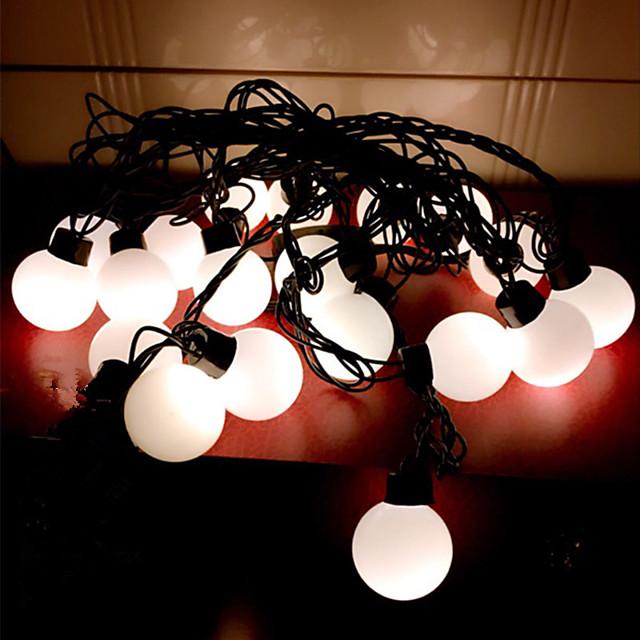 LED Lantern 3.5 Cm Black Line Ball Light Flashing Light Outdoor Garden Full Waterproof Wedding Christmas Decoration Light String