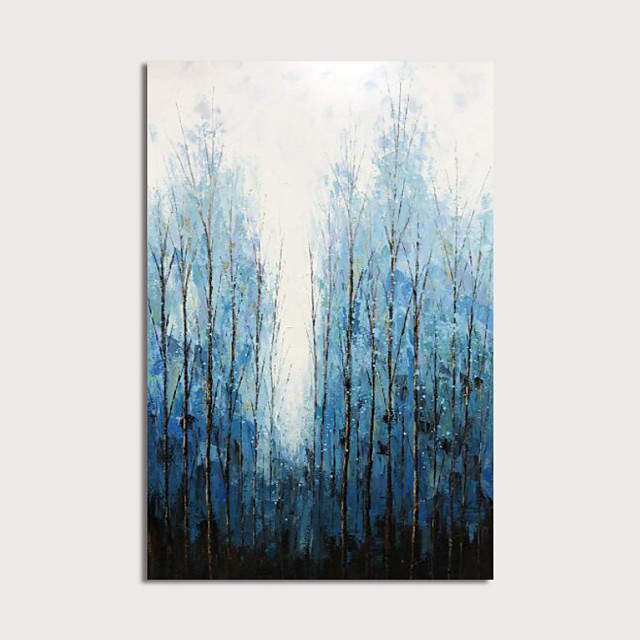 Hand Painted Canvas Oilpainting Abstract Landscape Home Decoration with Frame Painting Ready to Hang