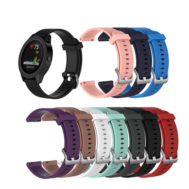 Watch Band for Vivoactive 3 / Garmin Forerunner245 / Garmin vivoactive4S Garmin Sport Band Silicone Wrist Strap