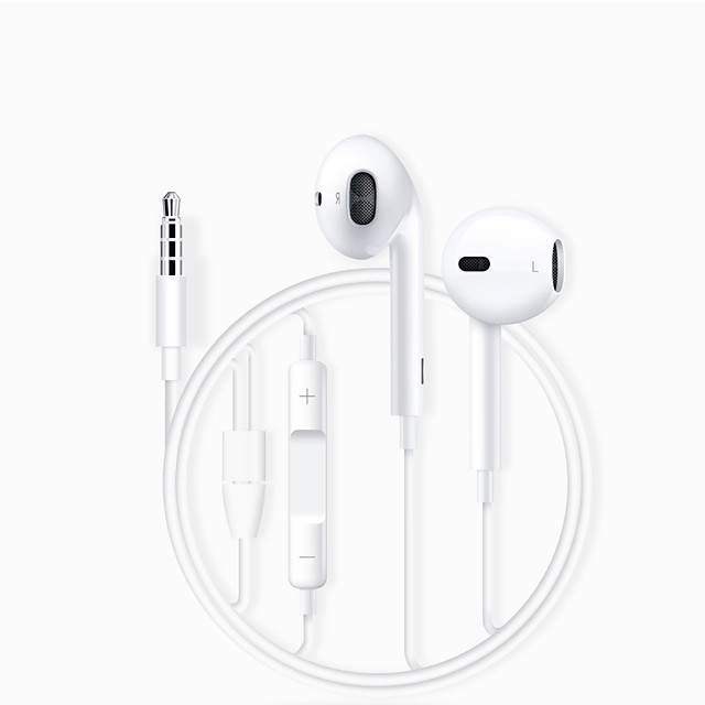 FIXST FIXST FE16 Wired In-ear Earphone Wired Stereo with Volume Control InLine Control for Travel Entertainment