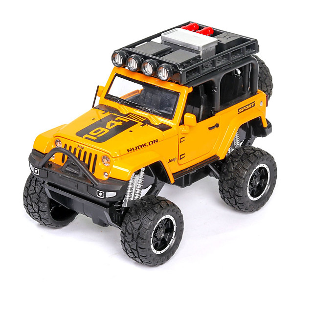 1:32 Toy Car Music Vehicles Truck F1 car Race Car SUV Glow Focus Toy Parent-Child Interaction Zinc Alloy Rubber ABS+PC Mini Car Vehicles Toys for Party Favor or Kids Birthday Gift / Kid's