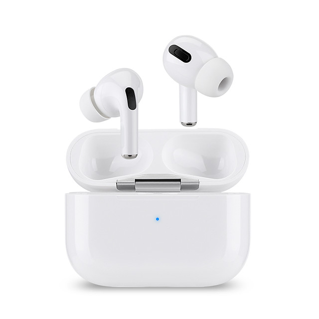 LITBest Airs Pro TWS True Wireless Earbuds Wireless Bluetooth 5.0 with Microphone with Charging Box Sweatproof Auto Pairing 1 to 1 Replica for Mobile Phone