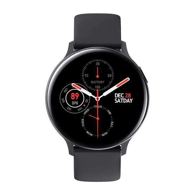 S20 Smartwatch for Samsung/ iPhone/ Android Phones Support Heart Rate/ Blood Pressure Measurement/ Calories Burned/ Notify Fitness Tracker