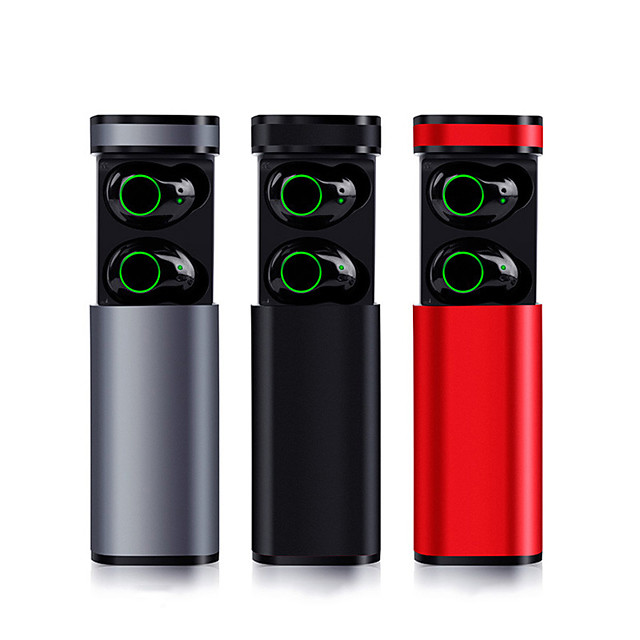 LITBest X23 TWS True Wireless Earbuds Wireless Bluetooth 5.0 with Microphone with Charging Box Sweatproof IPX5 for Mobile Phone