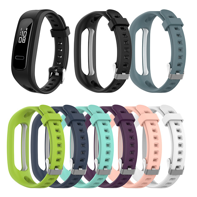 Watch Band for HONOR 4 / Huawei Honor 5 Huawei Sport Band Silicone Wrist Strap