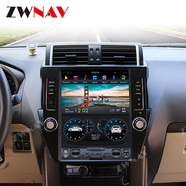 ZWNAV 12.1inch 1din 4GB 64GB Android 8.1 Tesla style Car GPS Navigation Car multimedia Player Car MP5 Player radio tape recorder For TOYOTA Land Cruiser Prado 150 2014-2017
