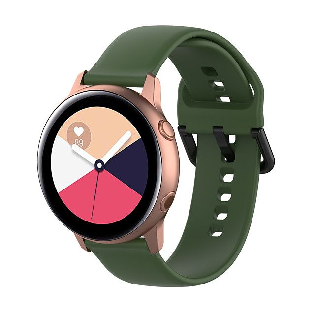Watch Band for Pebble Time Round / Pebble Time 2 Pebble Classic Buckle Silicone Wrist Strap