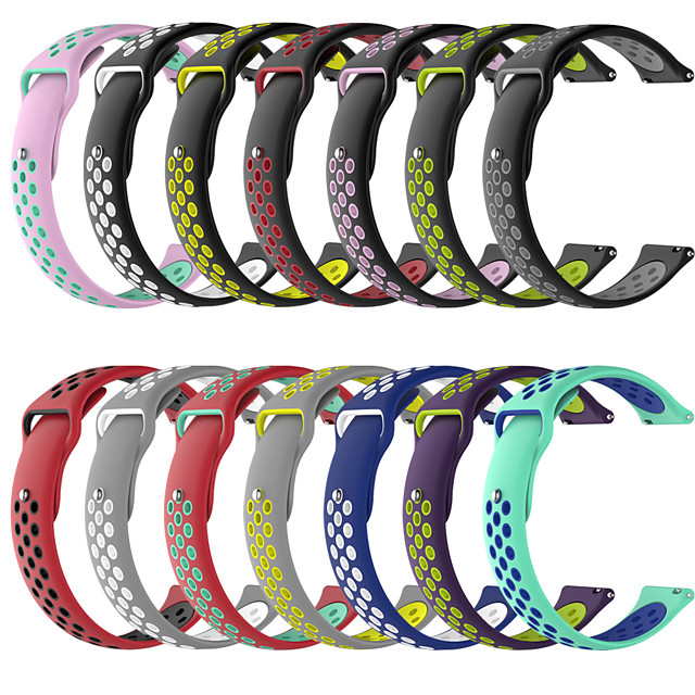 Watch Band for Apple Watch Series 5/4/3/2/1 Apple Classic Buckle Silicone Wrist Strap