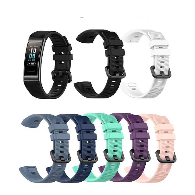 Watch Band for Honor Band 3 / Huawei Band 3 Pro Huawei Sport Band Silicone Wrist Strap