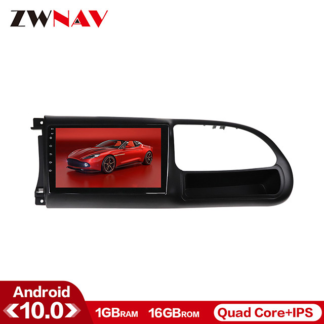 ZWNAV 9 inch 1din 1GB 16GB Android 10.0 Car GPS Navigation Car MP5 Player Car Stereo Player Car Multimedia Player CarPlay WIFI For Ford Transit 2010-2016