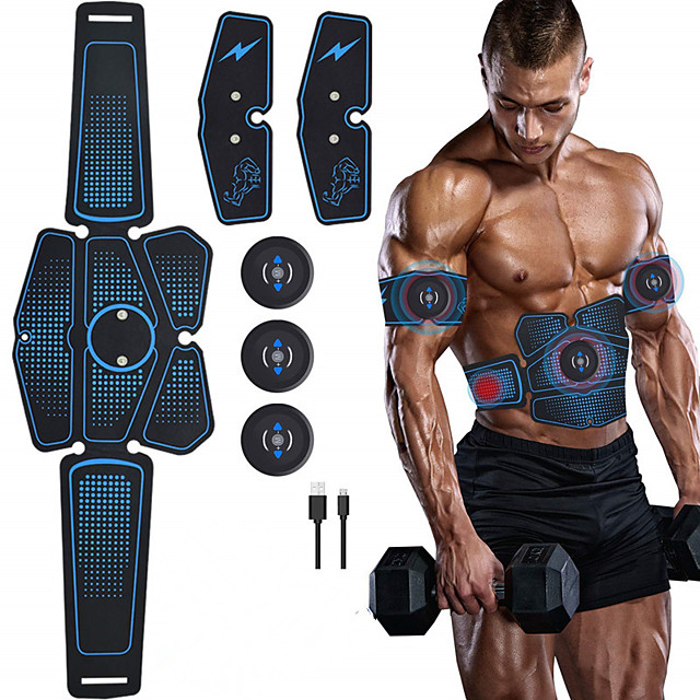 Abdominal Stickers Fitness Apparatus Abdomen Machine Smart Equipment Household Muscle Training AB Rocket Men and Women Thin Bell