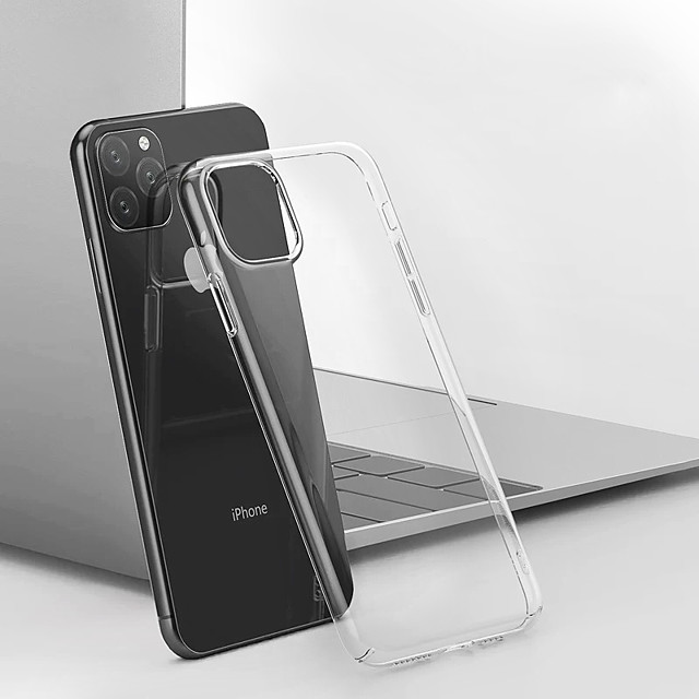 Case For Apple iPhone 11 / iPhone 11 Pro / iPhone 11 Pro Max Dustproof / Water Resistant / Transparent Full Body Cases Transparent TPU