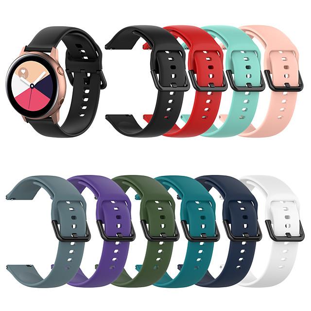 Ремешок для часов для TicWatch C2 / Ticwatch 2 / Ticwatch E TicWatch Спортивный ремешок силиконовый Повязка на запястье