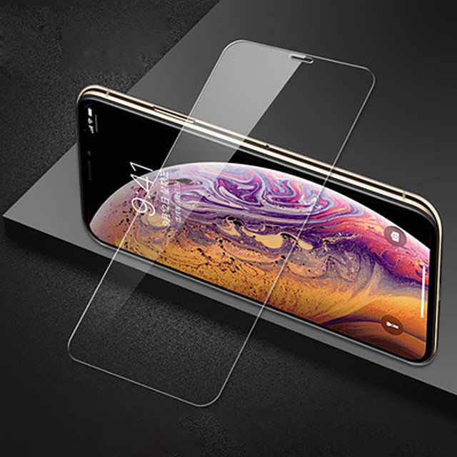 2Pcs Full Screen Tempered Glass Film For iPhone 11 / 11 Pro / 11 Pro Max Full Screen Explosion Proof Film Anti-fingerprint For iPhone XS Max / XR / XS / X / 8 Plus / 7 Plus / 6 Plus / 8 / 7 / 6