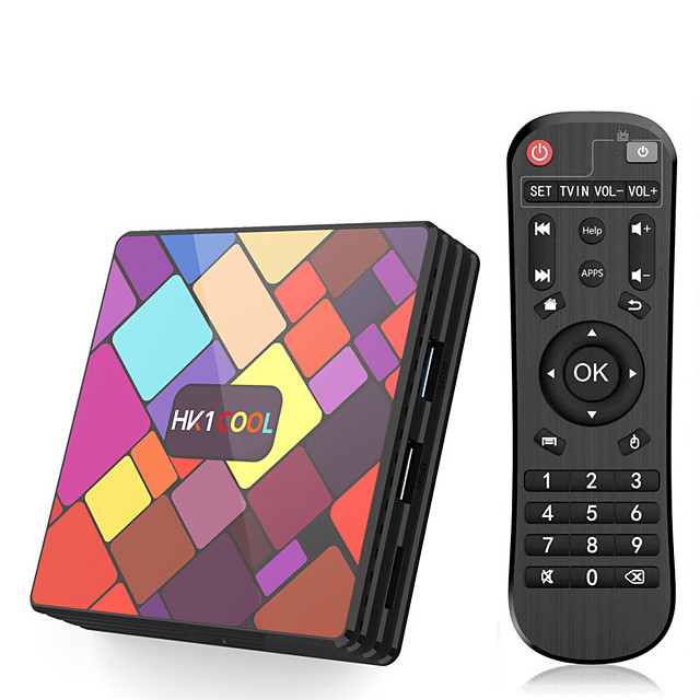 HK1 COOL Set-top Box Rk3318 Android 9.0 216/432/64g 4k Web Player