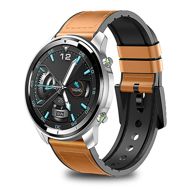 H15 Smart Watch Men Full Touch 360*360 HD Screen Blood heart rate Measure Fitness Tracker Wireless Charge Ceramics Smartwatch