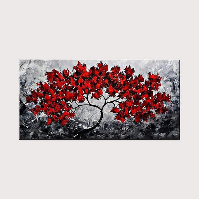 Newest Handmade Flower Abstract Oil Painting Art for Home Decor