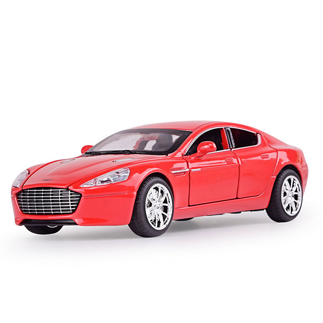 1:32 Toy Car Music Vehicles Car SUV Glow Office Desk Toys Adorable Zinc Alloy Rubber Mini Car Vehicles Toys for Party Favor or Kids Birthday Gift / Kid's