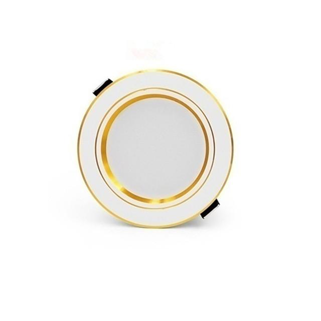 A set of 6PCS Super Bright Round LED Downlight 12W Aluminum AC110V-240V LED Downlight Recessed Ceiling Light