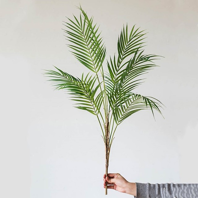 1 Branch Vivid Artificial Plants Home Decor Creative Wedding Party Display Simulation Leaves Decor