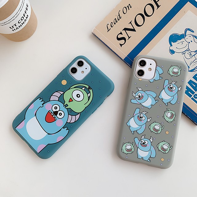 Case For Apple iPhone 11 / iPhone 11 Pro / iPhone 11 Pro Max Frosted / Pattern Back Cover Cartoon TPU