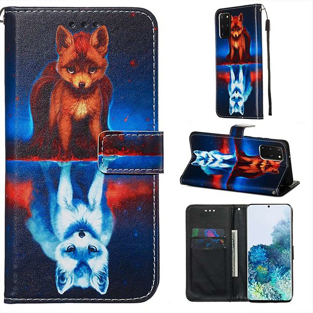 Case For Samsung Galaxy A90/Galaxy A80/Galaxy A50s Wallet / Card Holder / with Stand Full Body Cases Animal PU Leather For Galaxy A51/A71/S20/S20 Plus/S20 Ultra/A10S/A20S/A30S