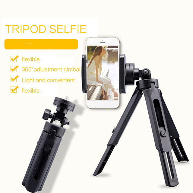 Protable Flexible Selfie Stick Tripod Phone Camera Stand Holder 360 Degree Rotation For iPhone SamSung Xiaomi OnePlus