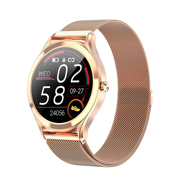 MK20 Men Women Smartwatch Android iOS Bluetooth Waterproof Touch Screen Heart Rate Monitor Blood Pressure Measurement Calories Burned Timer Pedometer Call Reminder Activity Tracker Sleep Tracker