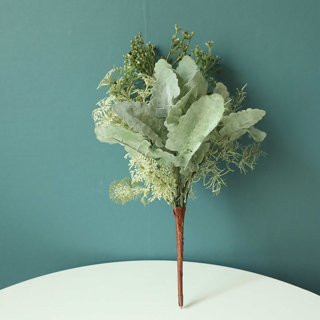 Artificial Flowers 1 Branch Classic Simple Style Pastoral Style Plants Eternal Flower Tabletop Flower