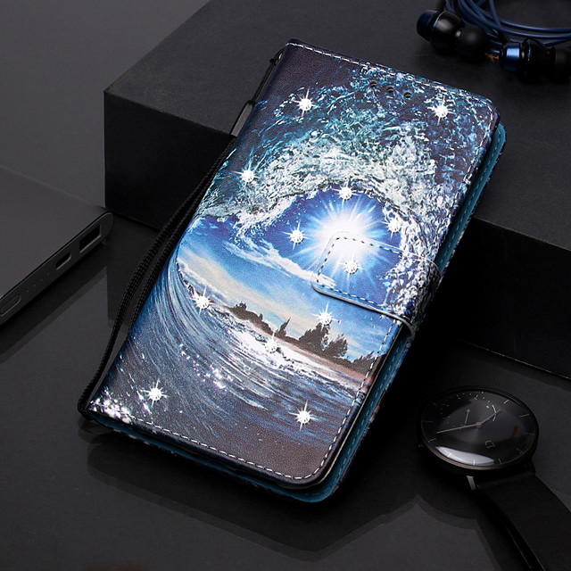 Case For Apple iPhone 11 / iPhone 11 Pro / iPhone 11 Pro Max Wallet / Card Holder / with Stand Full Body Cases Scenery PU Leather for iPhone XS MAX XR XS X 8 PLUS 7 PLUS 6 PLUS 8 7 6S