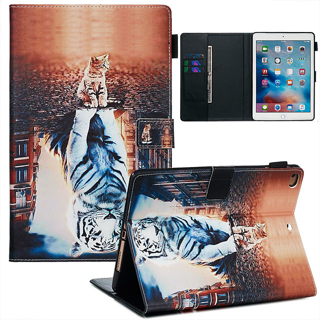 Case For Apple iPad Air / iPad (2018) / iPad Air 2 Dustproof / with Stand / Flip Back Cover sky PU Leather