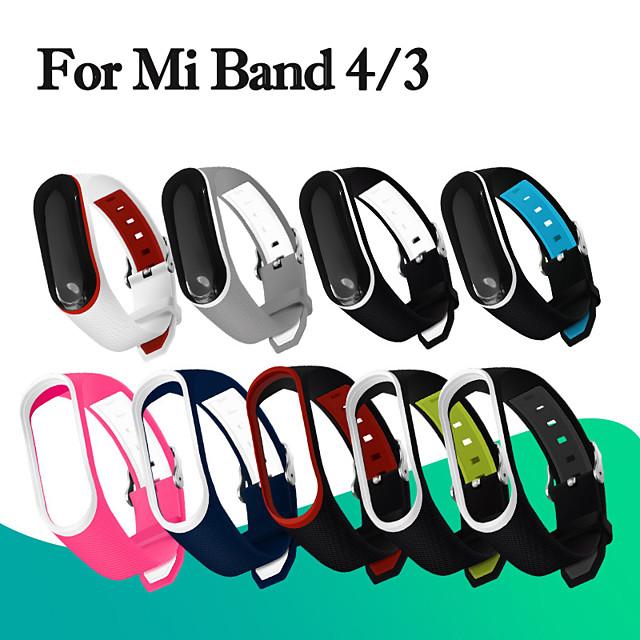 Fashion Soft Mi Band 3 4 Strap wrist strap for Xiaomi mi band 3 4 Silicone Miband 3 4 accessories pulsera correa Mi 3 replacement
