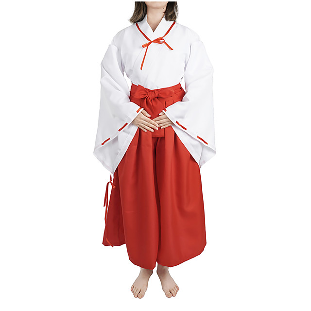 Inspired by InuYasha Kikyo Anime Cosplay Costumes Japanese Cosplay Suits Costume For Women's