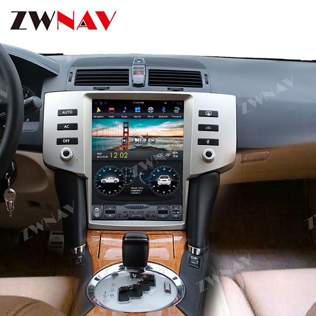 ZWNAV 12.1inch 1din Tesla style 4GB 64GB Android 8.1 Car GPS Navigation Car Auto multimedia player radio tape recorder Car MP5 Player For Toyota Reiz 2005-2009
