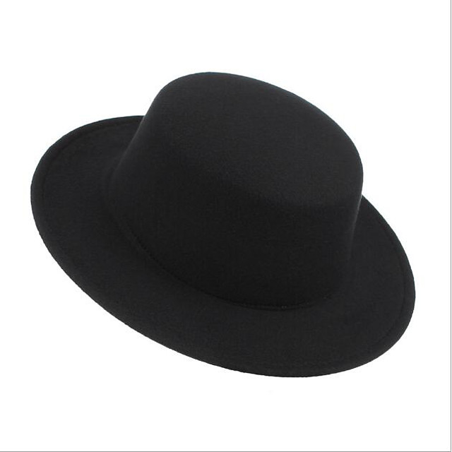 Hat Retro Wool Felt Hats / Headdress with Cap 1 Piece Daily Wear / Outdoor Headpiece