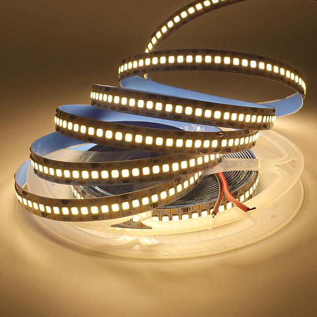 LED Light Strips Flexible Tiktok Lights 5730 SMD Non-Waterproof Flexible Strip 5 Meter 60 Chips/M Warm/White/Red/Green/Blue