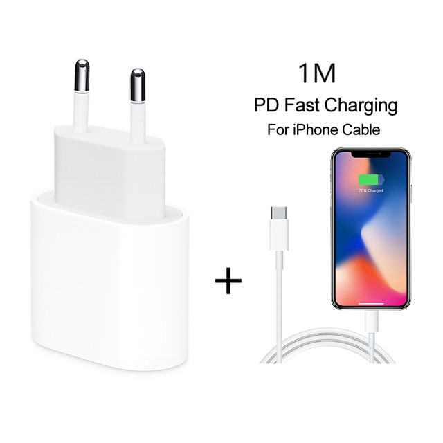 Quick Charge 4.0 3.0 QC PD Charger 18W QC4.0 QC3.0 USB Type C Fast Charger for iPhone 11 X Xs 8 iPhone PD Charger