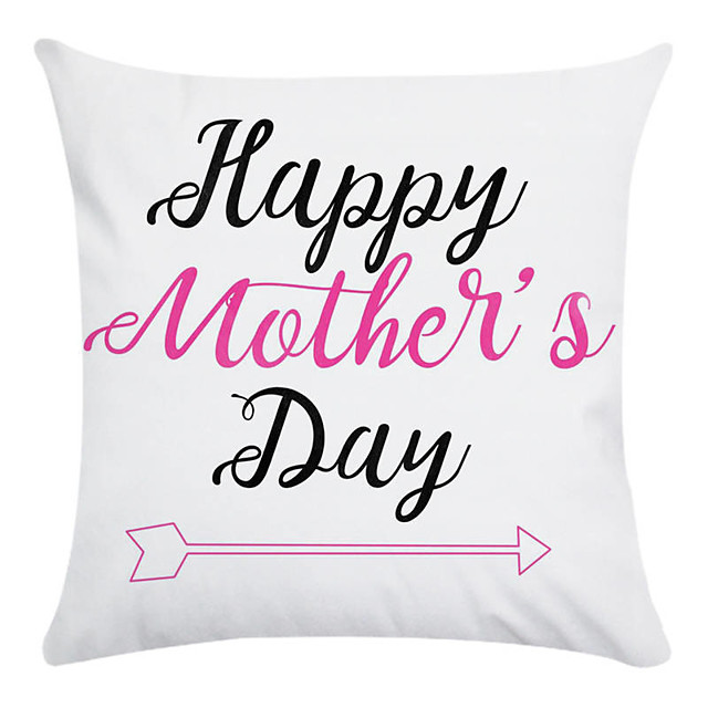 Mother's Day Love Pillow cushion throw modern polyester