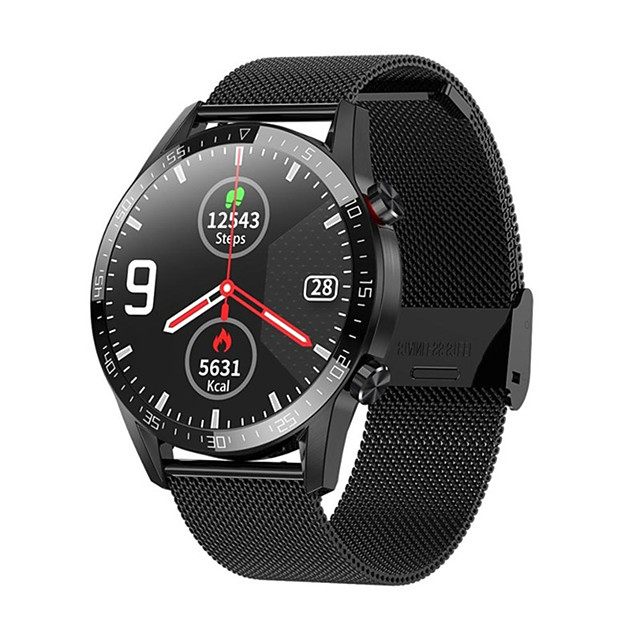 L13 Smart Watch Men ECGPPG IP68 Waterproof Bluetooth Call Blood Pressure Heart Rate Fitness Tracker sports Smartwatch