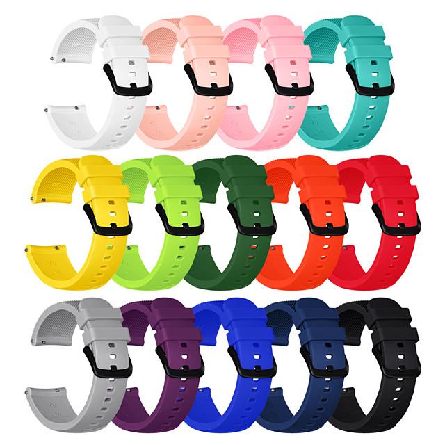 Watch Band for Gear Sport / Gear S2 Classic / Samsung Galaxy Watch 42mm Samsung Galaxy Sport Band Silicone Wrist Strap