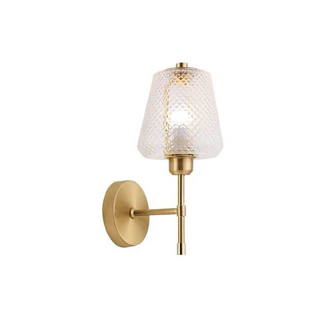 Waterproof / Eye Protection Nordic Style Wall Lamps & Sconces Bedroom / Dining Room Metal Wall Light IP20 110-120V / 220-240V 60 W