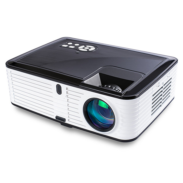 1080P LED Full HD Home Video Projector with HDMIx2/USBX2/SD/AV/VGA Ports Compatible with Smartphone/VGA/TV/PS4/DVD Ideal for Home Theater(Loud Sound)