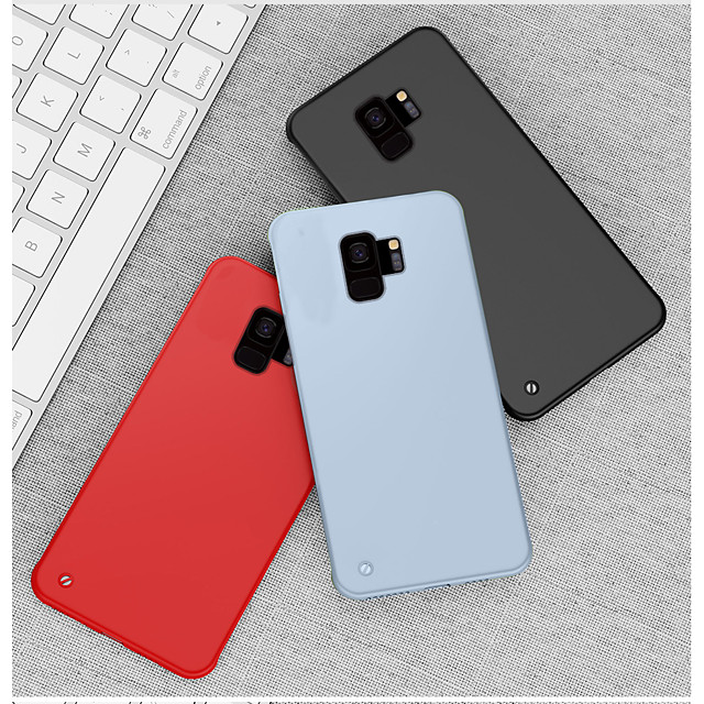 Case For Samsung Galaxy Note 10 / Note 9 / S10 / S9 / S10 Plus / S9 Plus Shockproof / Ultra-thin / Frosted Back Cover Solid Colored PC
