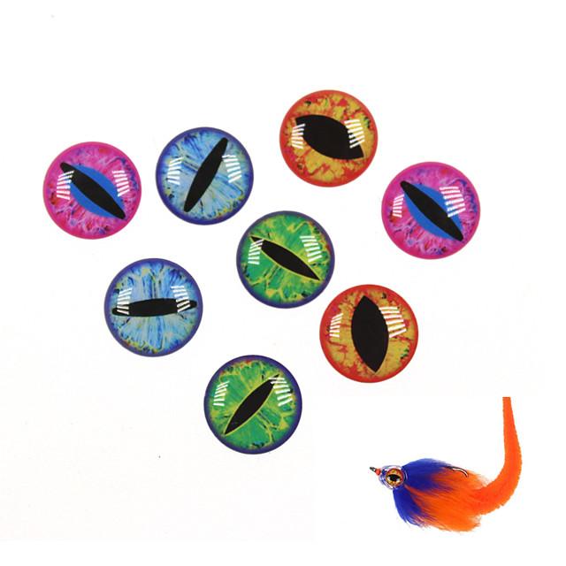 400 pcs Lure kits Soft Bait Sinking Bass Trout Pike Sea Fishing Fly Fishing Spinning Hard Plastic / Jigging Fishing / Freshwater Fishing / Lure Fishing