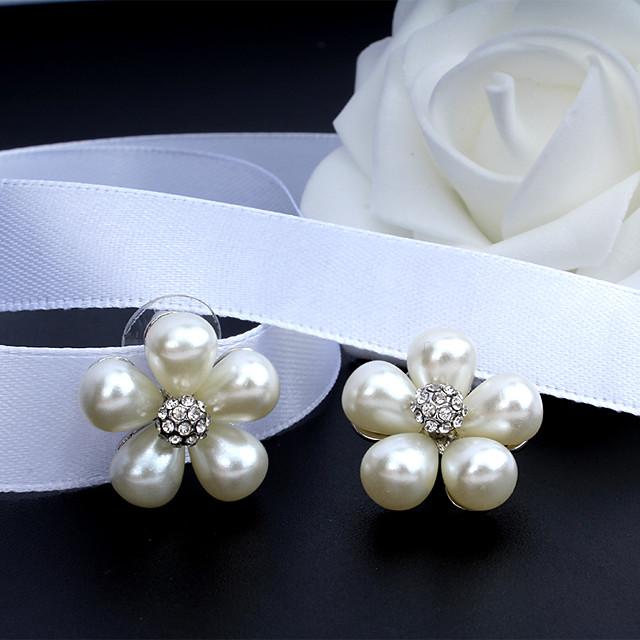 Women's Drop Earrings Dangle Earrings Classic Drop Korean Fashion Elegant Earrings Jewelry Silver For Wedding Party Anniversary Prom 1 Pair