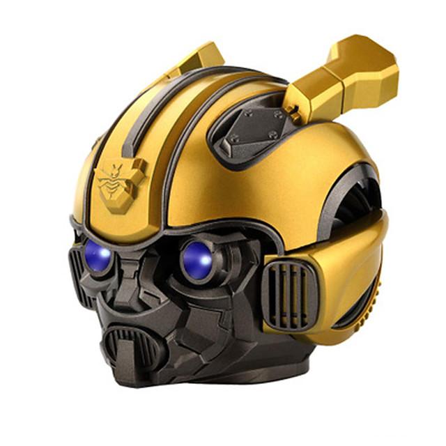 LITBest Bumblebee Bluetooth Speaker Portable Wireless Loudspeaker LED Flashing Light BT mini Transformers Speaker